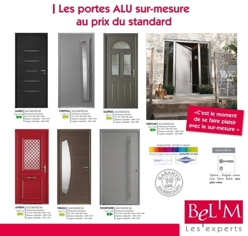 porte d 39 entr e bel 39 m sur mesure au prix du standard atoubaie. Black Bedroom Furniture Sets. Home Design Ideas