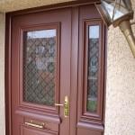 Porte d'entrée aluminium- Roissy en Brie