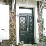 Porte d'entrée aluminium-Chennevière sur Marne