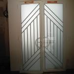 Porte d'entrée aluminium. Ormesson sur Marne