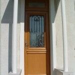 Porte d'Entrée Bois – Bel'm – Installée par ATOUBAIE