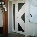 Porte d'entrée aluminium-Pontault Combault