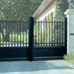 Portail aluminium Art et Fenètre ligne «Retro»