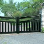 Portail aluminium  Art et Fenètre Contemporain