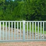 Portail aluminium ligne «Prélude» Art et Fenètre