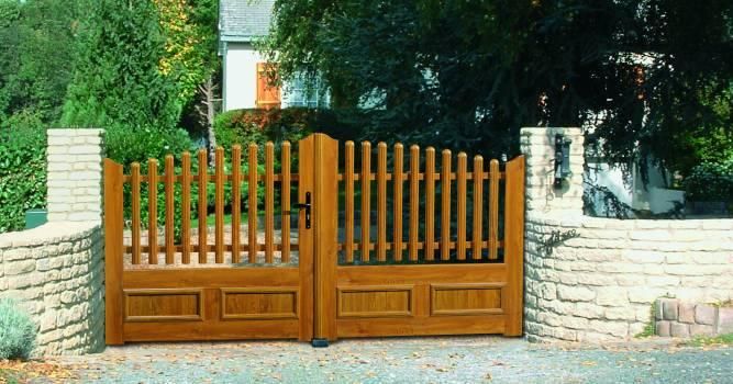 portail pvc art et fen tre atoubaie. Black Bedroom Furniture Sets. Home Design Ideas
