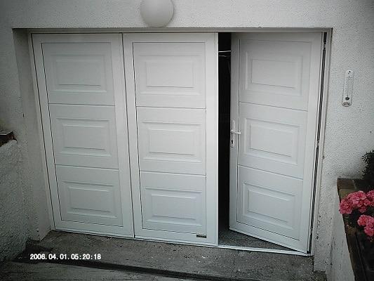 Portes de garage 77 94 ozoir pontault lagny chelles for Porte de service sur mesure